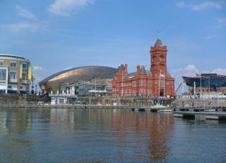 Cardiff Docks Image